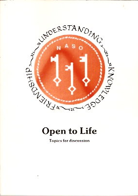 Image for Open to Life (Topics for Discussion)