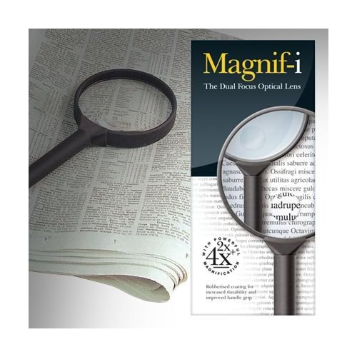 Image for Large Dual Focus Magnifier (90mm)