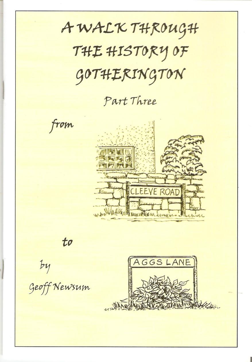 Image for A Walk Through the History of Gotherington - Part 3 - From Cleeve Road to Aggs Lane