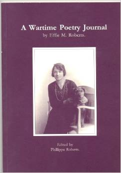 Image for A Wartime Poetry Journal