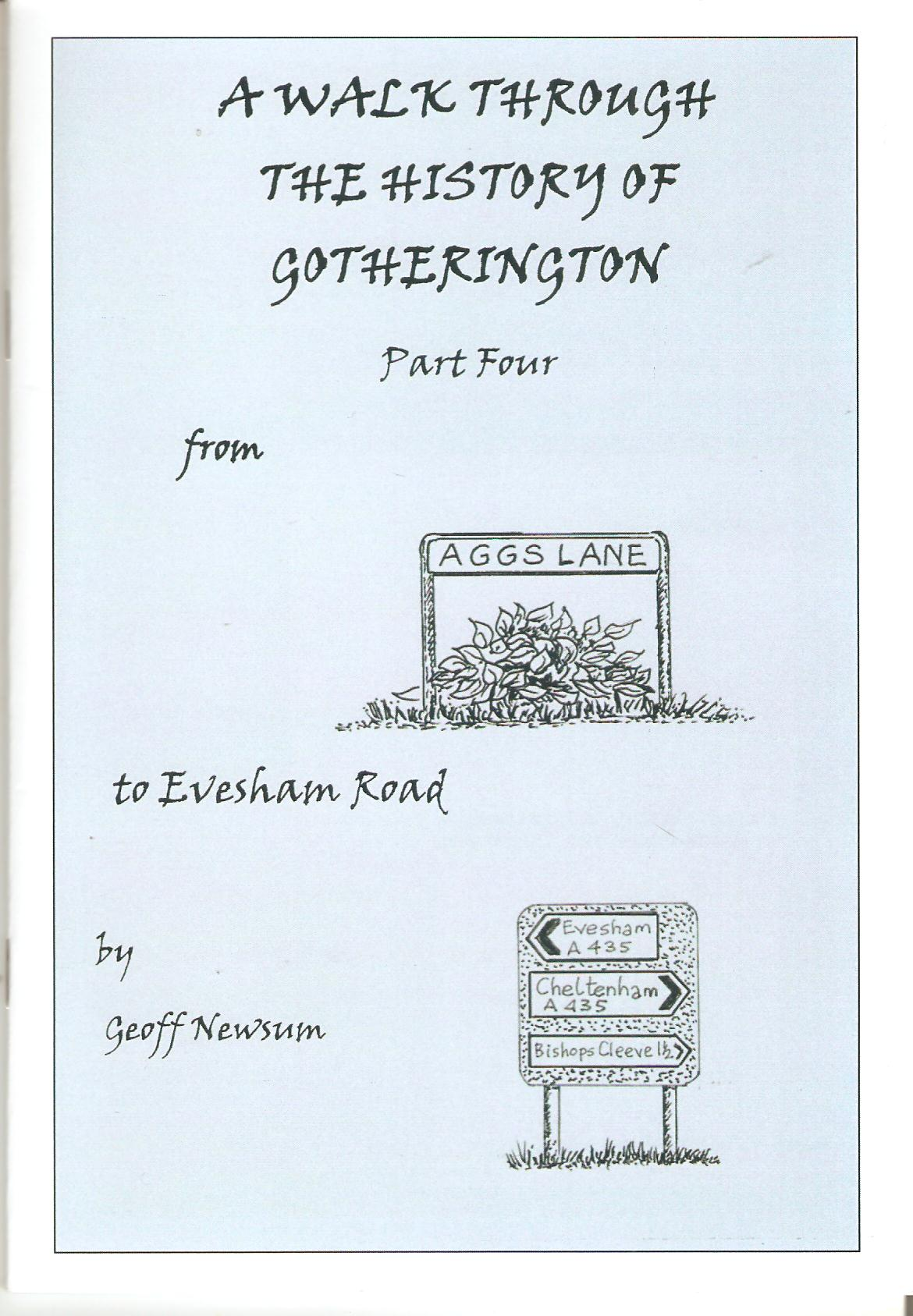Image for A Walk Through The History of Gotherington - Part 4 - From Aggs lane to Evesham Road