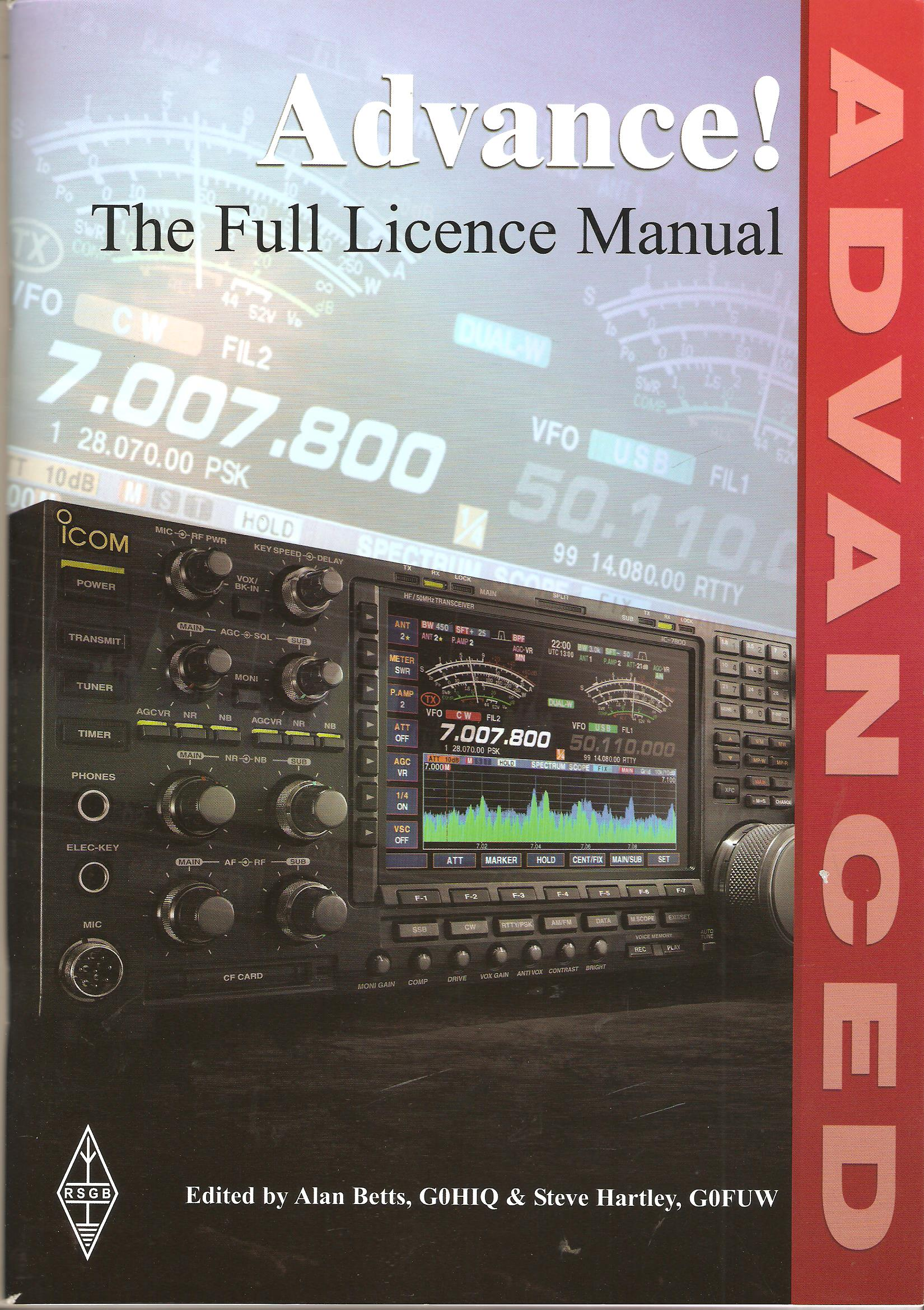 Image for Advance! The Full Licence Manual