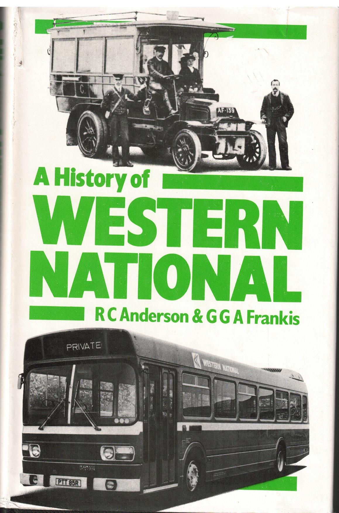 Image for A History of Western National