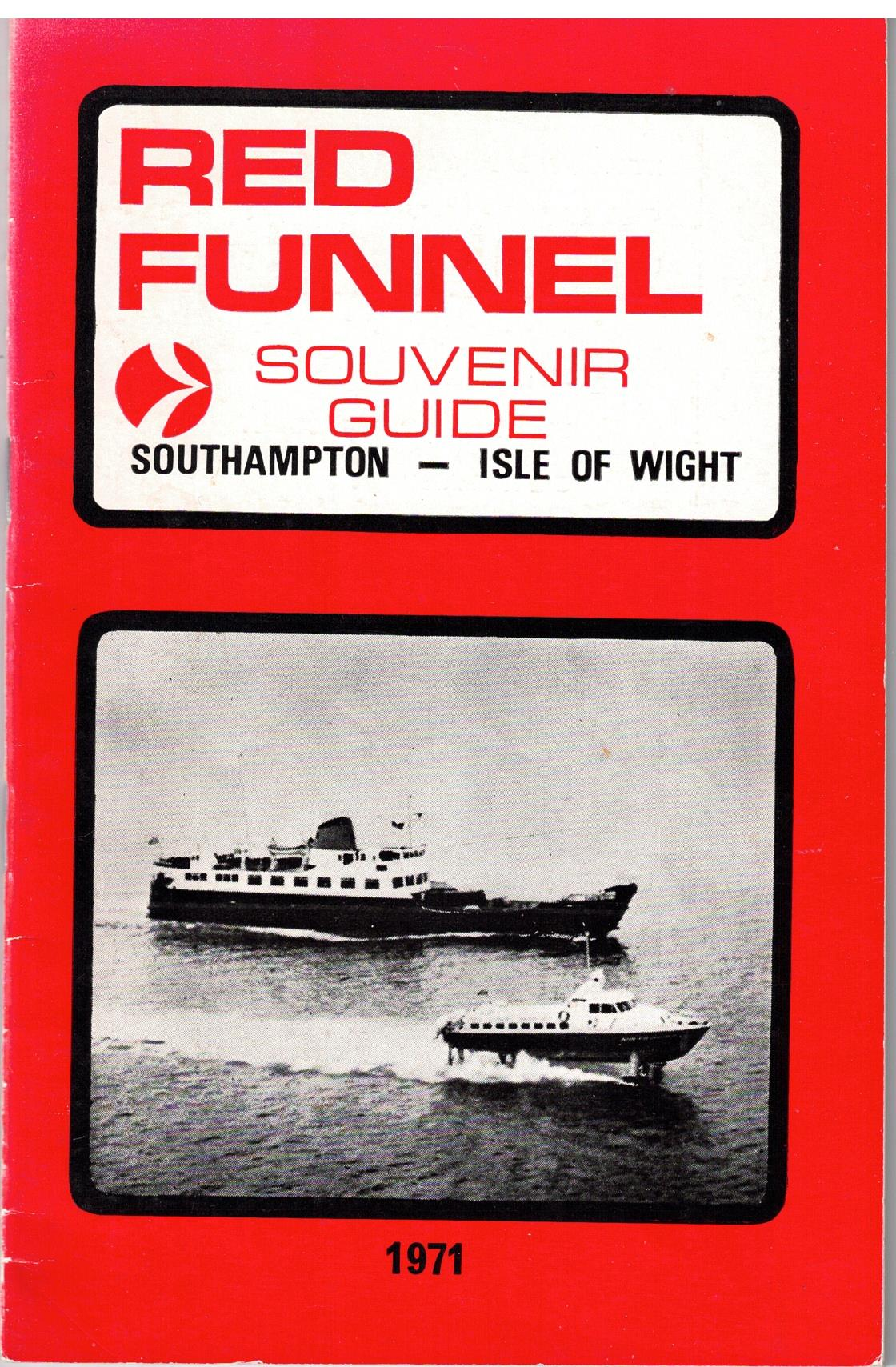 Image for Red Funnel Souvenir Guide - Southampton to Isle of Wight 1971