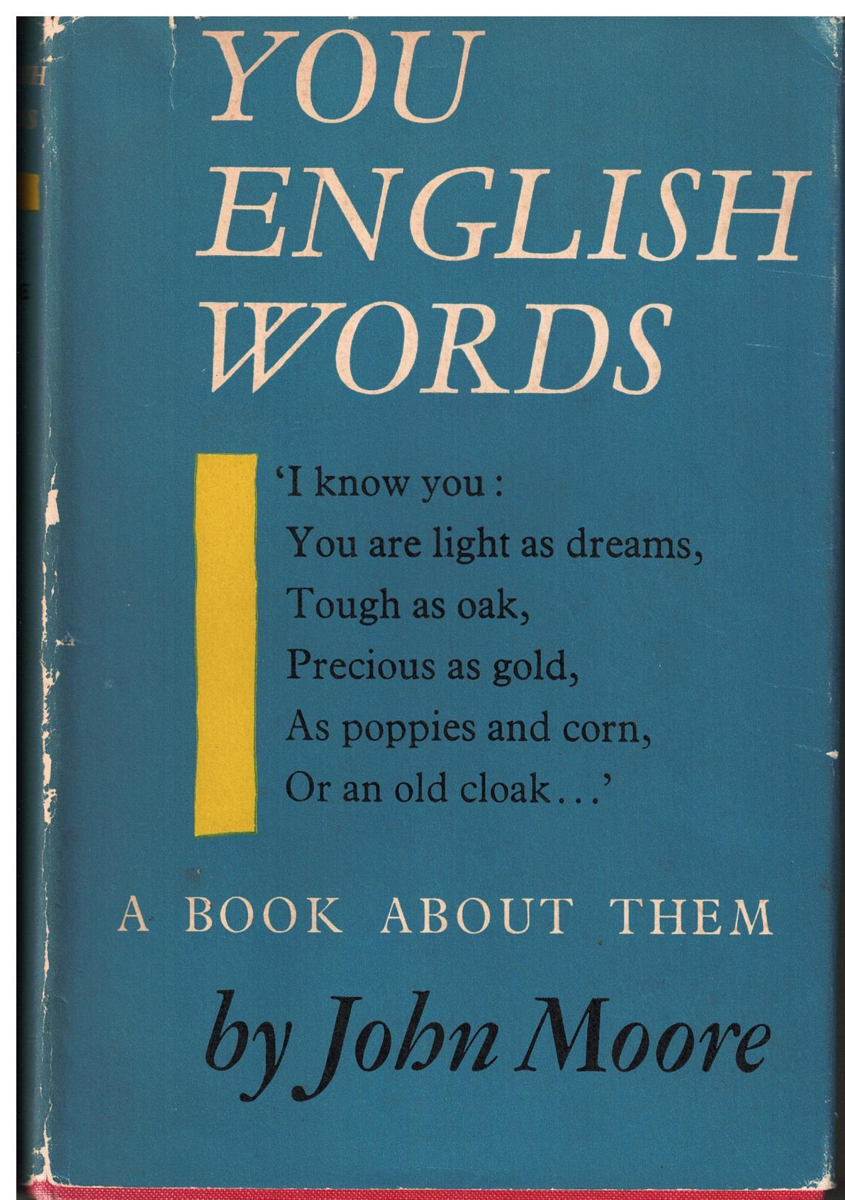 Image for You English Words - a book about them
